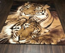 Modern Approx 8x5ft 160x230cm Woven Backed Tigers Designs Quality rugs Bargains